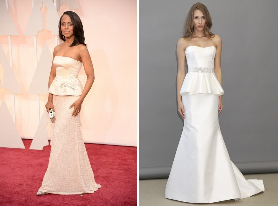Get the Look: 12 Oscars-Inspired Wedding Gowns   Pacific Northwest ...