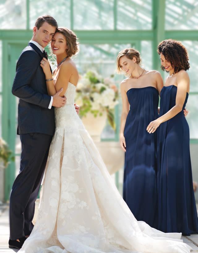 Chic Fashion for Greenhouse Weddings | portlandbrideandgroom.com ...