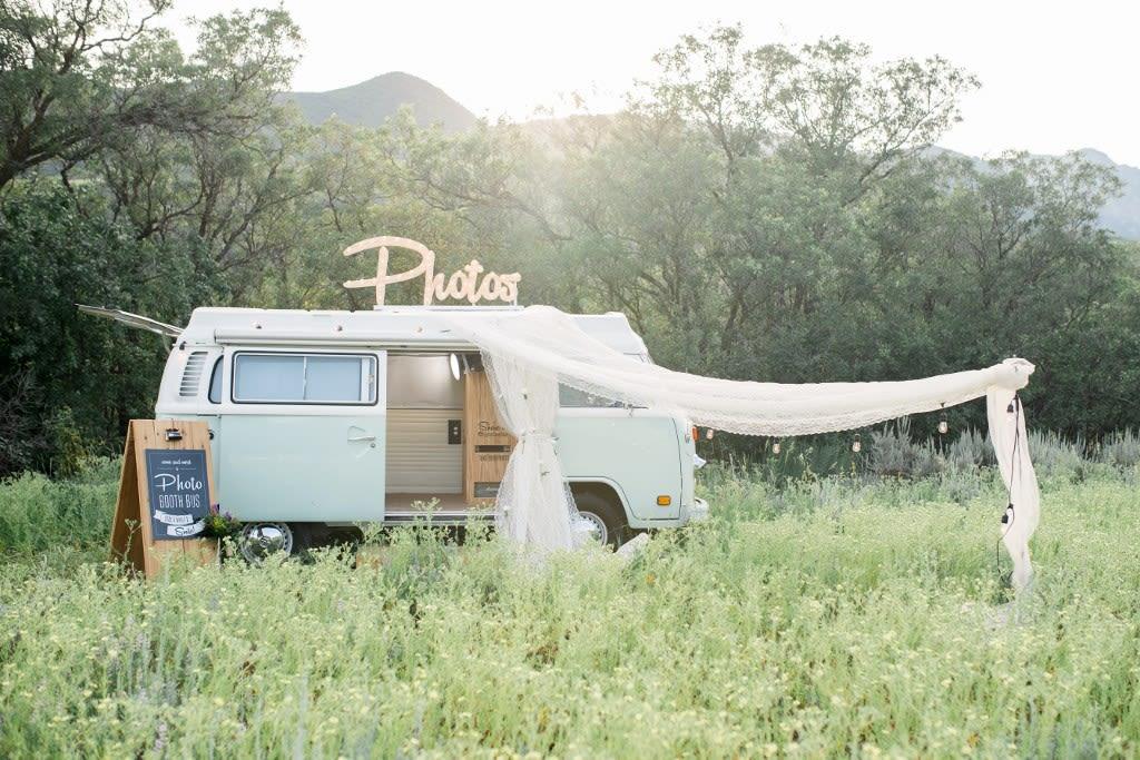 Bohemian Wedding Inspiration + Photo Booth Bus | Pacific