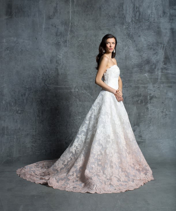 Ombre Wedding Dress: Trend Spotting: Ombre Wedding Dresses