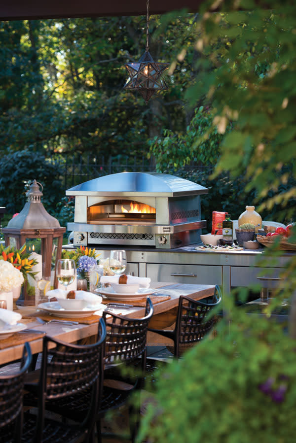 Artisan Fire Pizza Oven Is Perfect For Sarasota Summer Parties