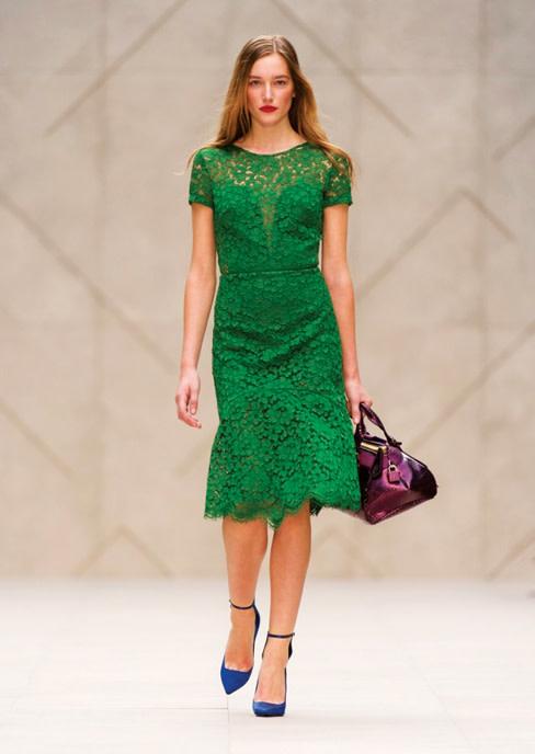 Burberry prorsum emerald tp0pgb