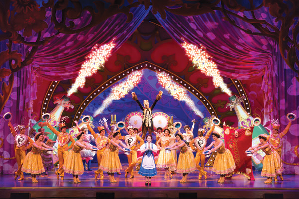 Jillian butterfield and the cast of disneys beauty and the beast ymucmd