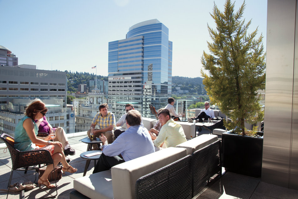 Eat Outside Rooftop Respites Portland Monthly