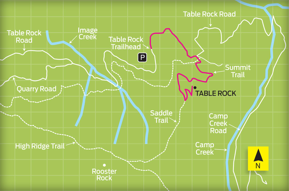 Table Rock Trail Portland Monthly