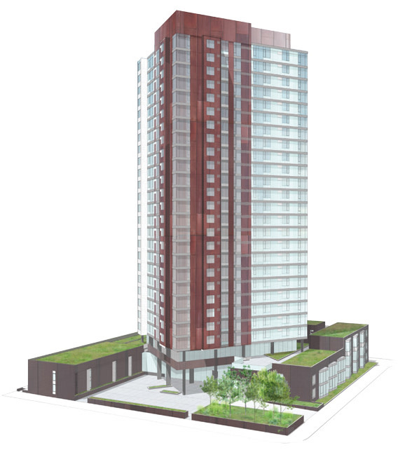 Riverscape Apartments: North Pearl: Going Up?
