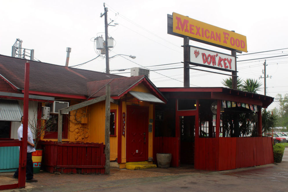Donkey Mexican Restaurant Pasadena Texas