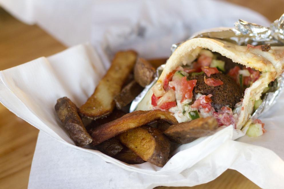 Stellar Shawarma And Sabich At Gonzo Portland Monthly
