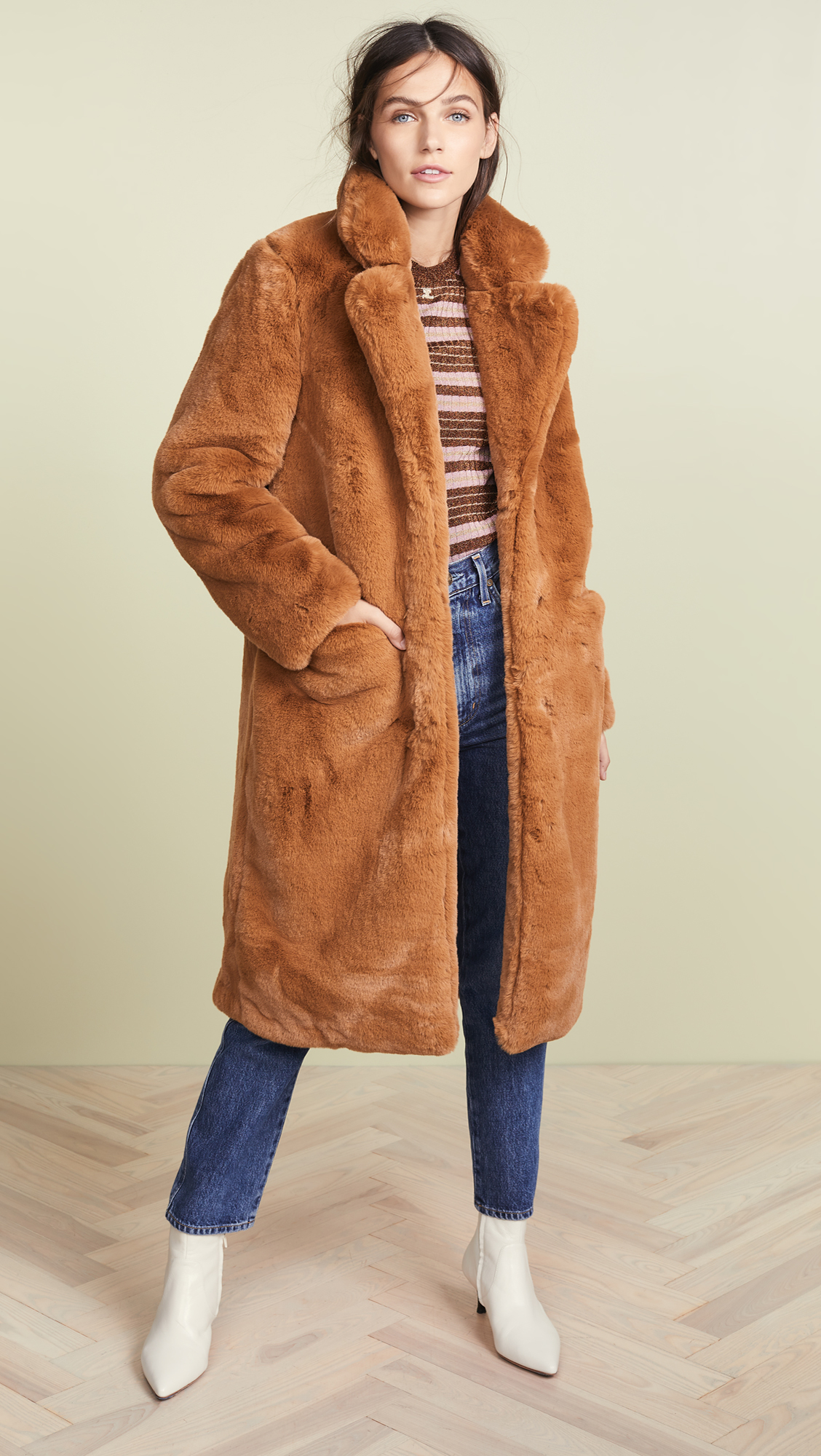 837b397de06b 10 Faux Fur Jackets for Chilly Weather