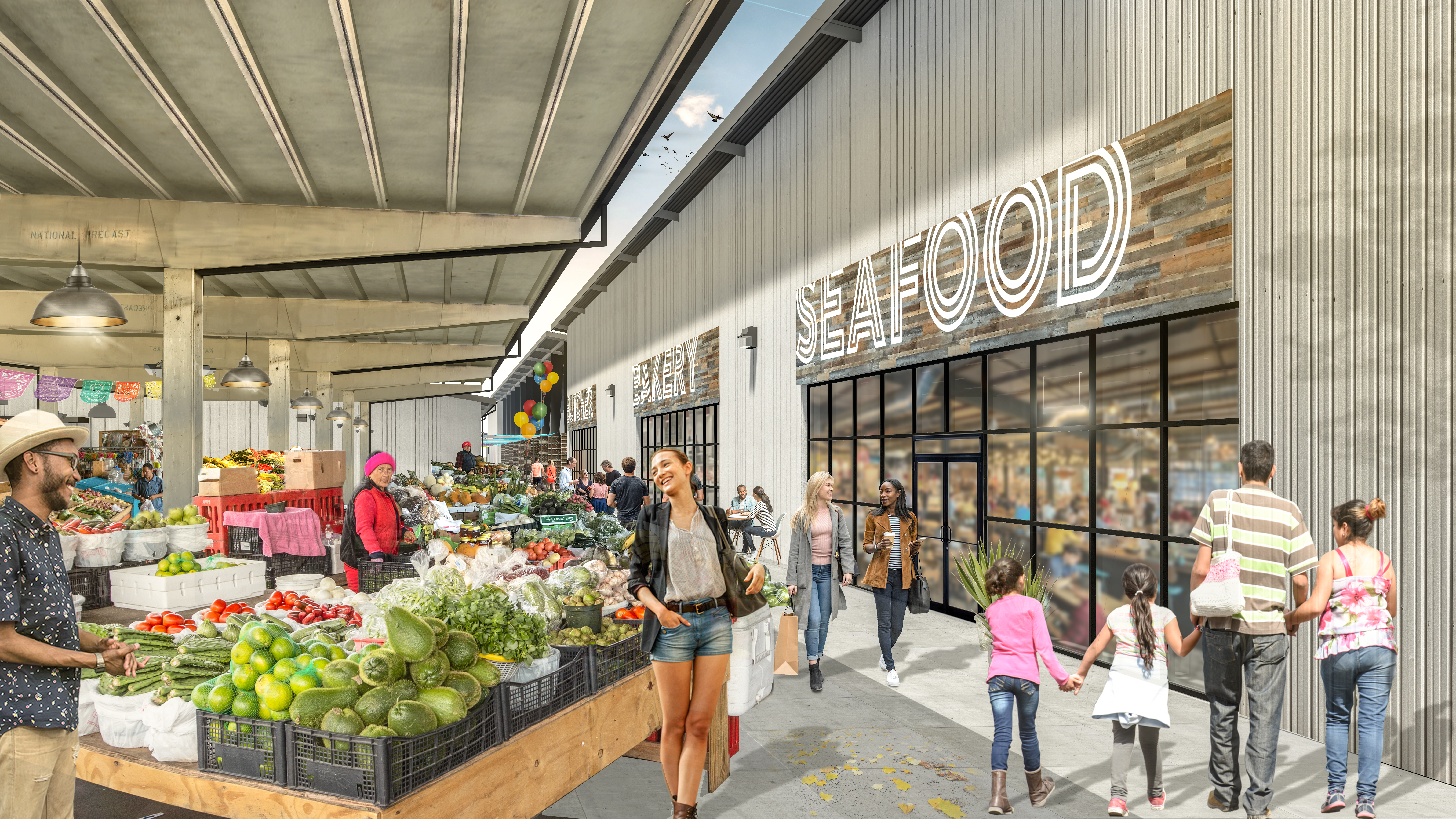 The Old Canino Produce Market Site Redevelopment Has Begun