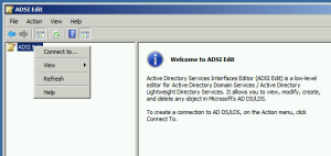 03.ADSI Edit connect to