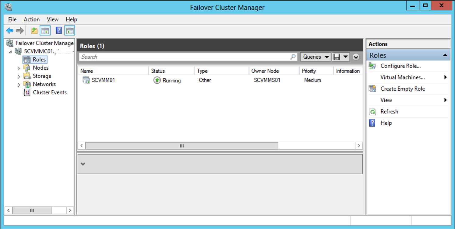 VMM-Failover-Cluster-Role