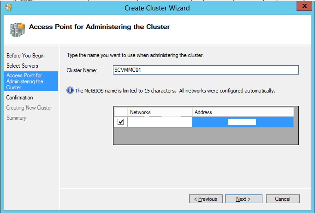 Create-SCVMM-Cluster