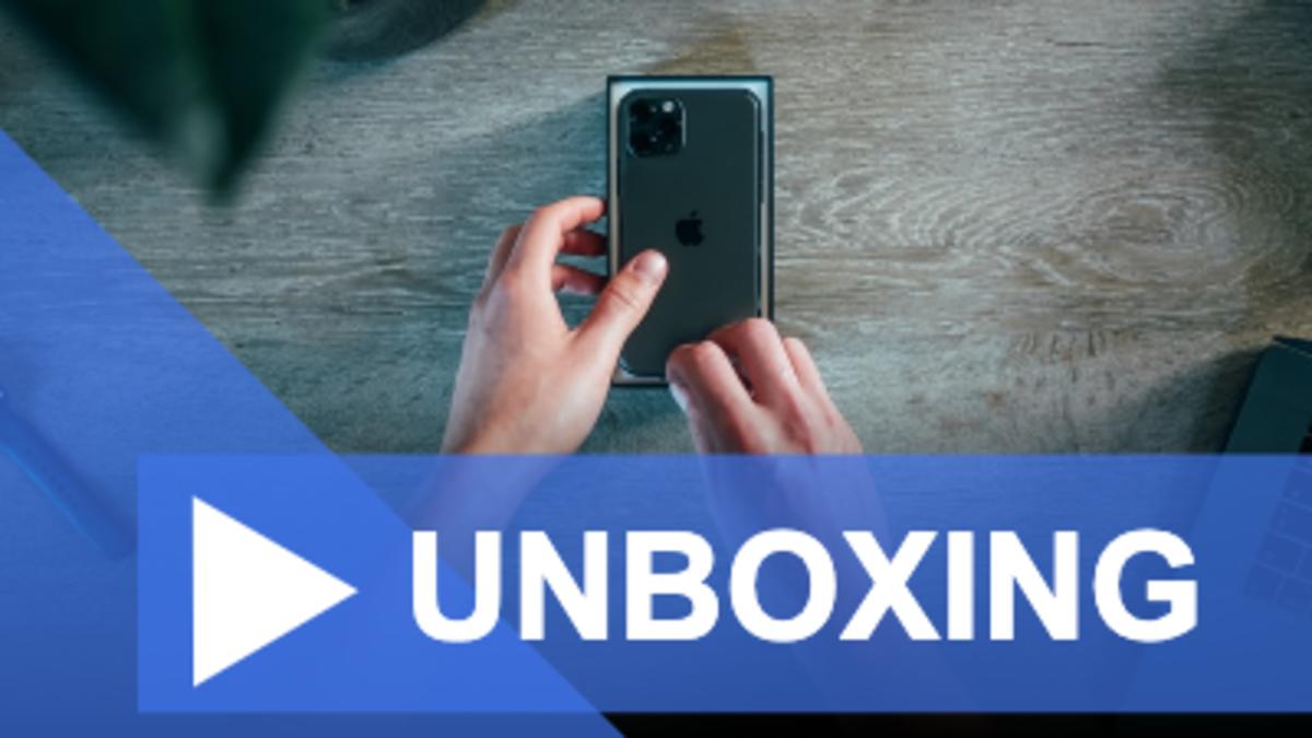 Unboxing Youtube thumbnail