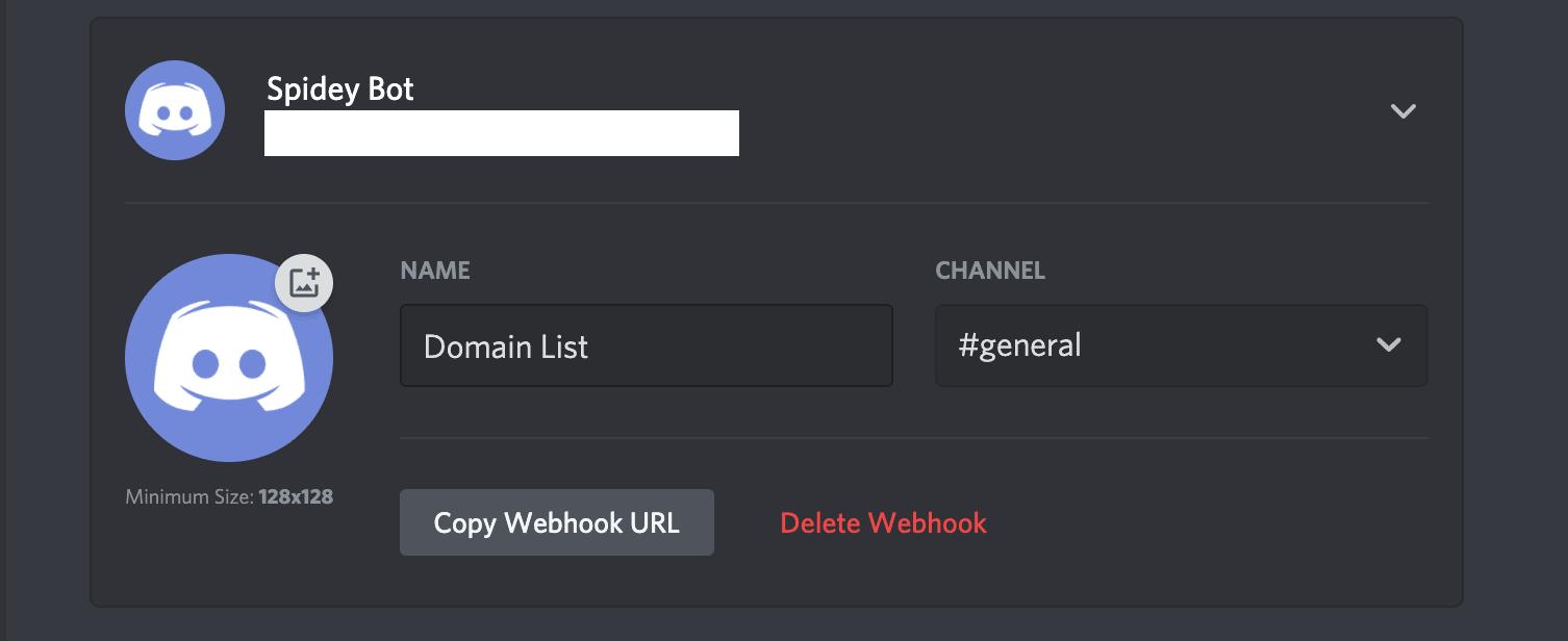 Discord Copy Webhook URL