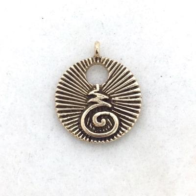 Bhuddist Blessing Charm Pendant