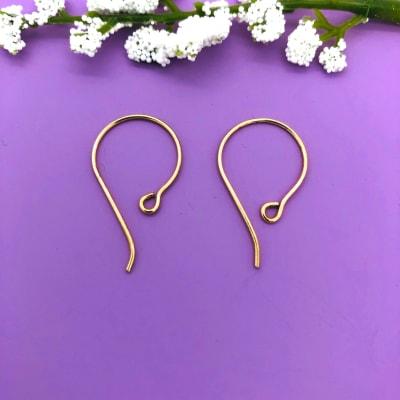 bronze earwires