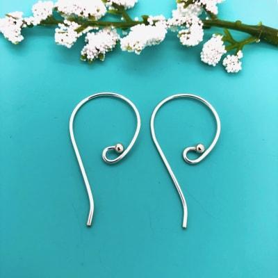 SE35 sterling silver earwires