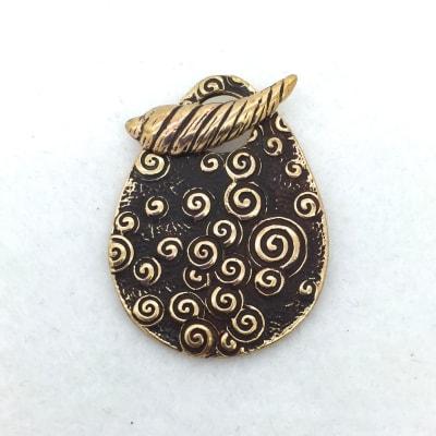 STB136 bronze toggle pendant