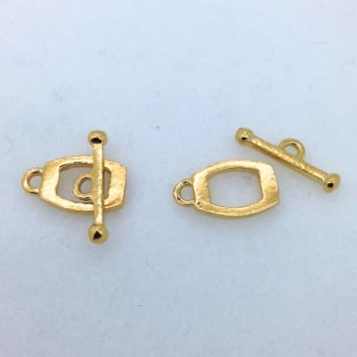 ST9g gold plated toggle, 2p.