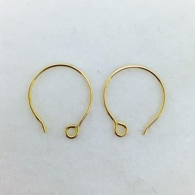 SE24 bronze earwire, 10 pr