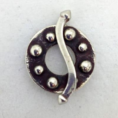 SW73 white bronze toggle