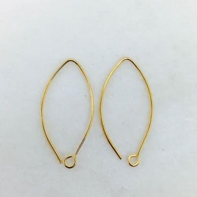 SE41 bronze earwire, 10 pr