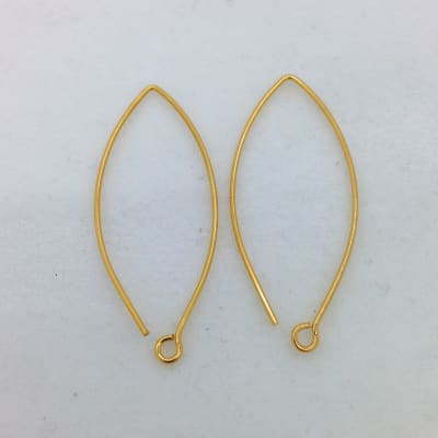 SE18g gold plated earwire