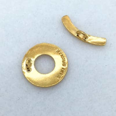 ST75g 18mm gold plated toggle