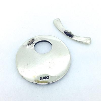 SW101 white bronze toggle 32mm