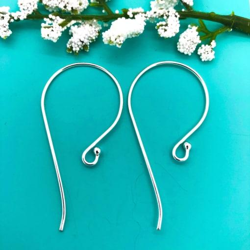 SE19 sterling silver earwires