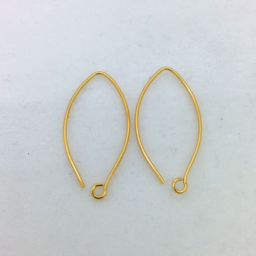 SE17g gold plated earwire