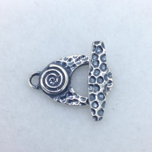 ST108 sterling silver toggle