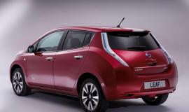 Фото Nissan Leaf Electro