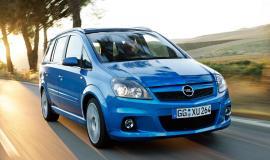Фото Opel Zafira OPC 2.0 i 16V Turbo OPC