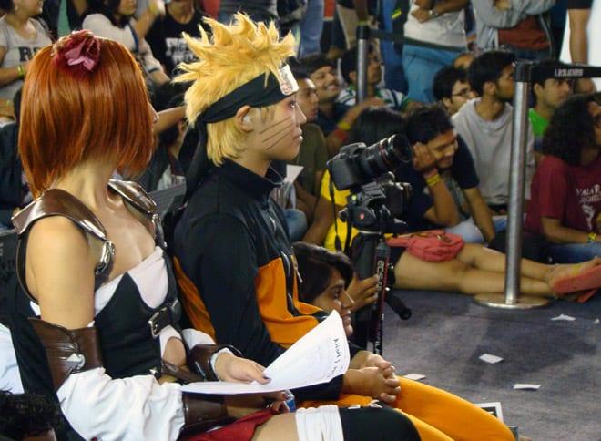 Comic-Con_Bangalore_2014_Judges_Miya_Akira