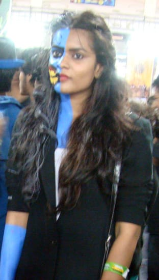 Comic-Con_Bangalore_2014_Face_Paint_Cosplay