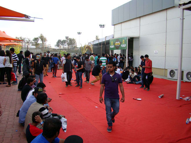 Comic-Con_Bangalore_2014_Entrance_Court