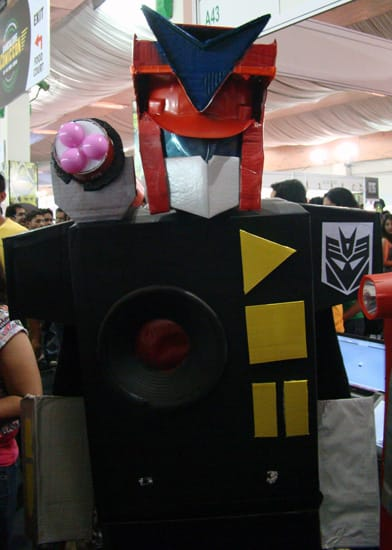 Comic-Con_Bangalore_2014_Autobot