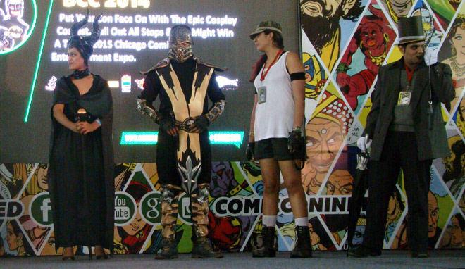 Bangalore_Comic-Con_2014_Maleficant_Scorpio_Penguin