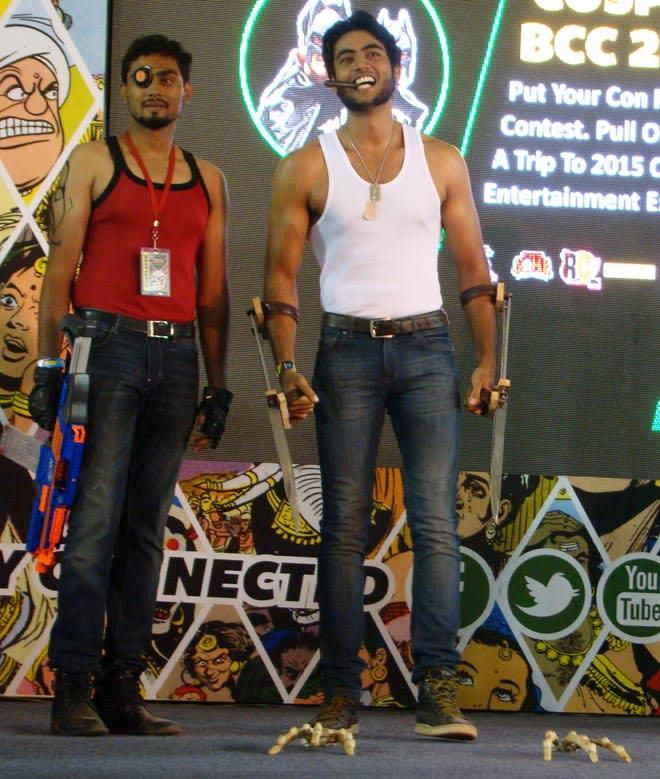 Bangalore_Comic-Con_2014_Wolverine_Deadshot