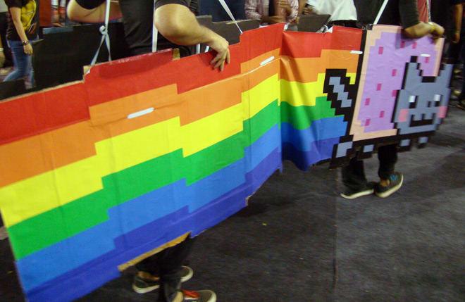 Comic-Con_Bangalore_2014_Nyan_Cat