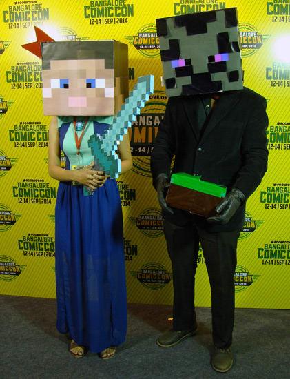 Comic-Con_Bangalore_2014_Minecraft