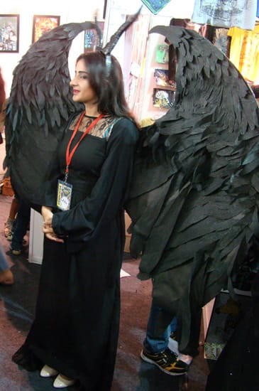 Comic-Con_Bangalore_2014_Maleficent_Troubled_Wings