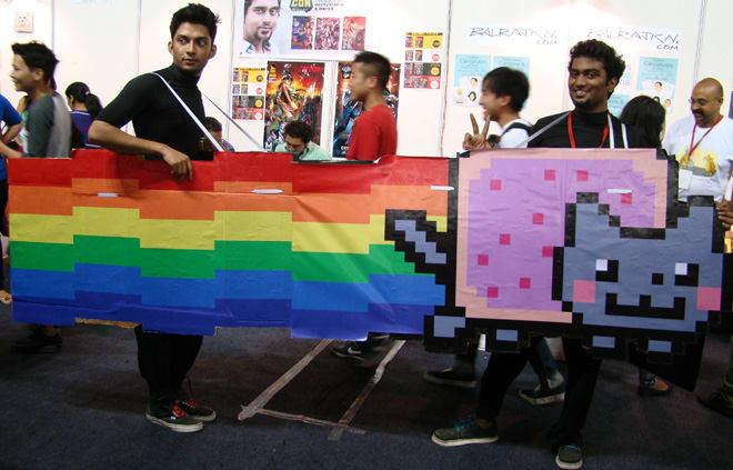 Comic-Con_Bangalore_2014_Nyan_Cat_Full