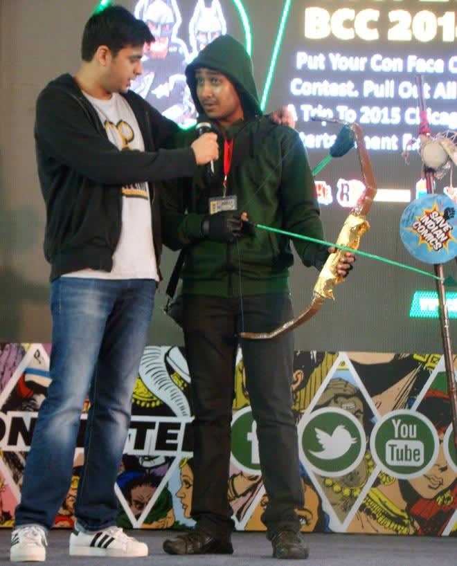 Bangalore_Comic-Con_2014_Arrow