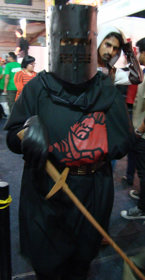Comic-Con_Bangalore_2014_Black_Knight