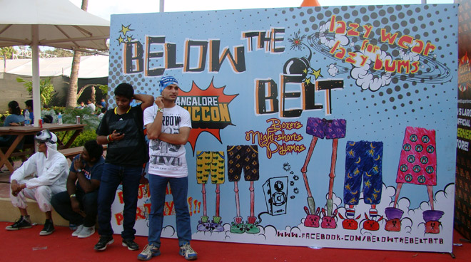 Comic-Con_Bangalore_2014_Below_the_Belt