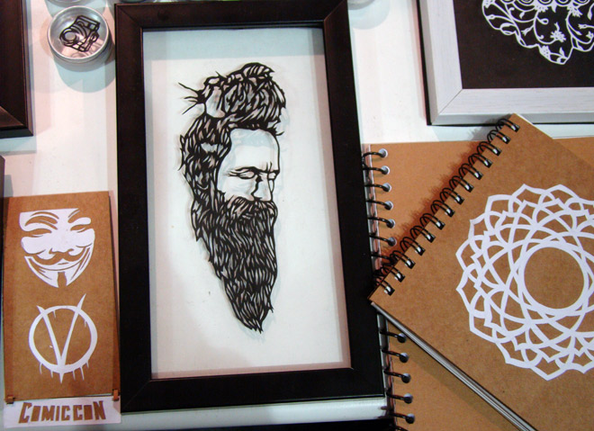 Comic-Con_Bangalore_2014_Babaji_Sketchbooks