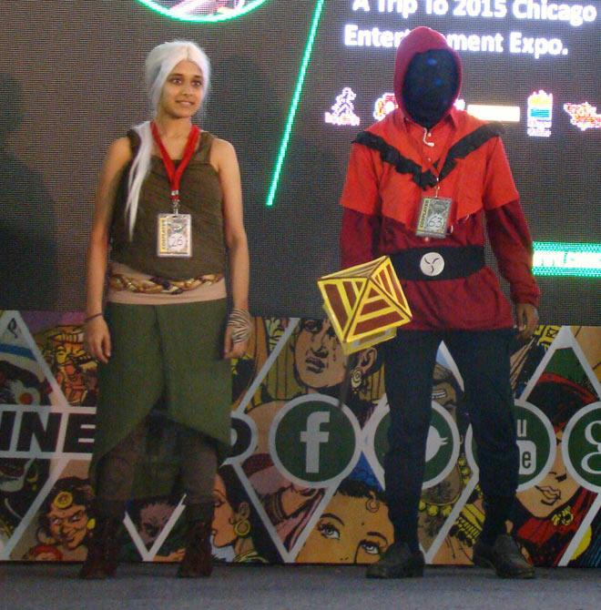 Bangalore_Comic-Con_2014_Khaleesi_Dothraki_Gaming